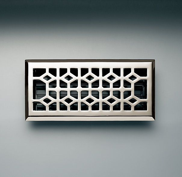 Grillwork Register Cover: Restoration Hardware, Rh S Grillwork, Vent Covers, Catalog, Grillwork Register, House, Contemporary Hardware, Products, Register Covers