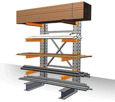 Structural Cantilever Racking Add On Kits Single Lumber Storage