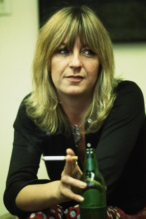Born: July 12th 1943 ~ Christine Anne Perfect, professionally known as Christine McVie after her marriage to John McVie of Fleetwood Mac, is an English singer, keyboardist and songwriter.           Spouse: John McVie (m. 1968–1976)
