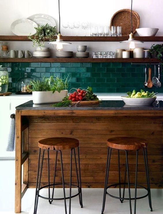 25 kontrastierende Kücheninsel-Ideen für eine Au…