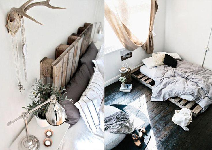 Кровать из поддонов и паллет #мебель #паллеты #поддоны