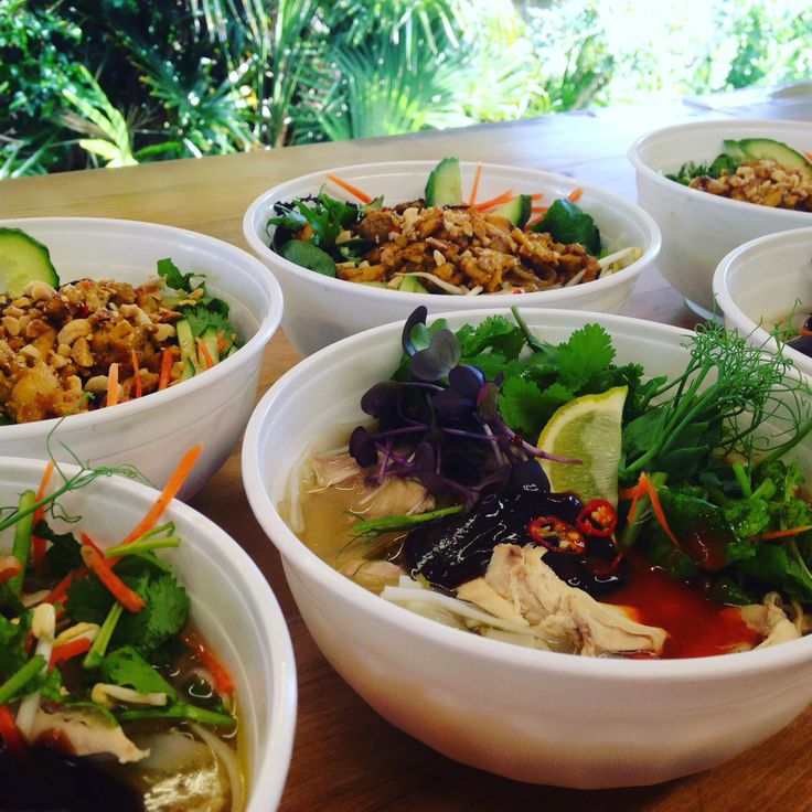 Viet Q Foods - Pho Ga (Chicken pho noodle soup) - hot, steamy and delicious)