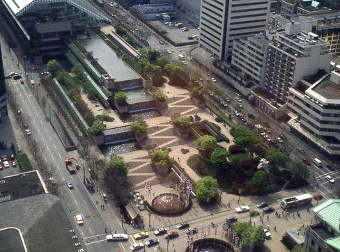 Robson Square, Vancouver (001) - Arthur Erickson Architects