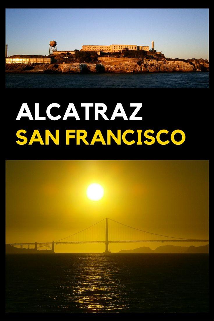 Blog over Alcatraz in San Francisco.