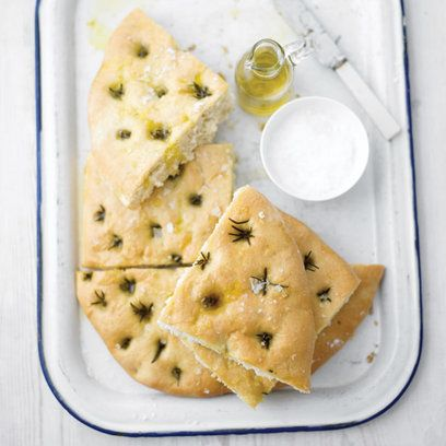 Great for sharing, and made even better with the use of a really fine extra-virgin olive oil, this is brilliant when served warm as a starter or as a meal in itself with fresh tomatoes, artichokes and cold meats.