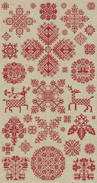 Scandinavian embroidery