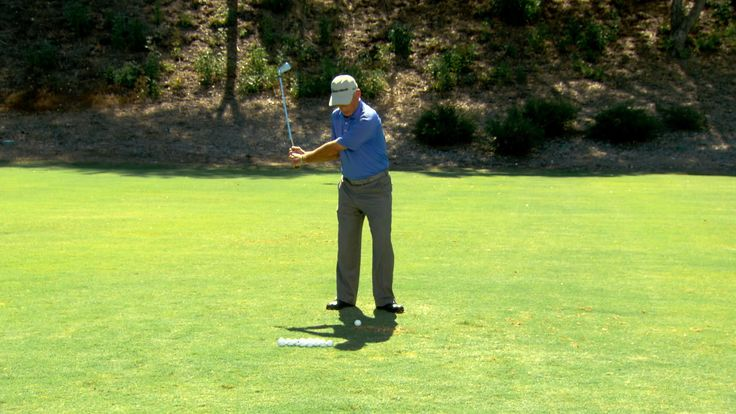Corey Pavin gives a tip to keep your head down at impact to help improve your ball striking. Watch Morning Drive on Golf Channel.