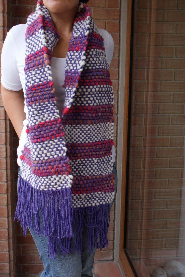 bufanda 3 colores