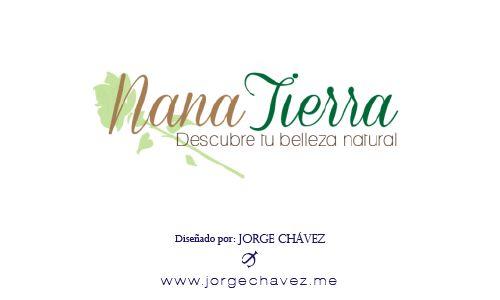 Logotipo diseñado para empresa de productos de belleza con ingredientes 100% naturales.