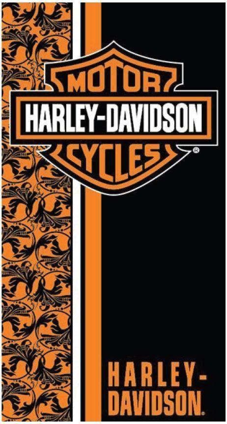 Harley Davidson Flower Decor Bath, Pool, Beach Towel 30x60 Womens? LICENSED! #IslandGear