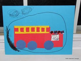 little learners lounge: Shape Fire Engine