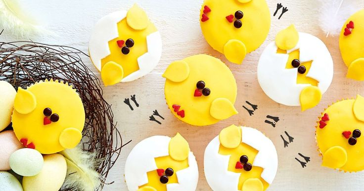 These cute little Easter cupcakes are something worth tweeting about.