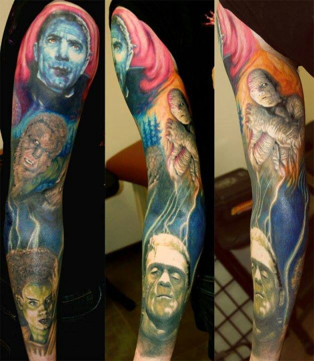 45 Best Horror Movie Tattoos Images On Pinterest