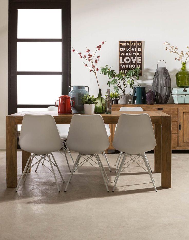 17 beste afbeeldingen over eetkamer op pinterest lampen george nelson en zwarte stoelen - Deco van woonkamer eetkamer ...