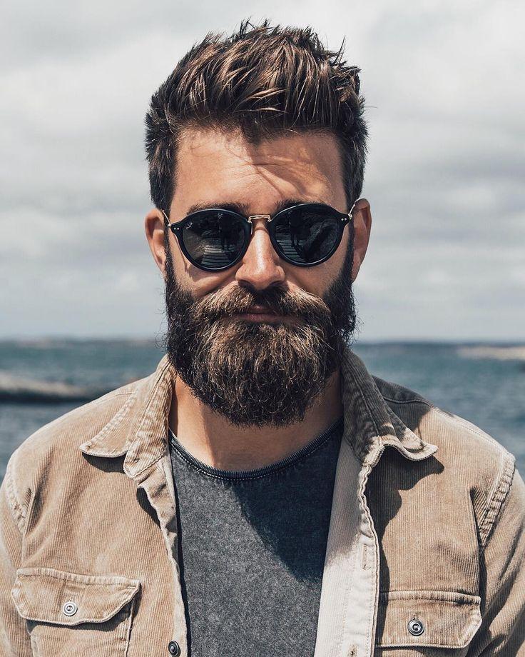 perfect sunglasses for men with beard @slackerblack | kapten-son.com