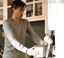 The gift of a balanced breakfast. | 23 Gifts David Tennant Has Graced The World With