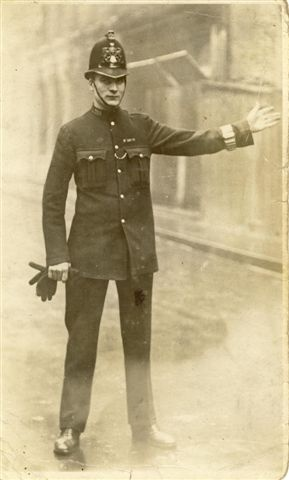 London bobby circa 1920.