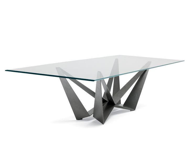 Stunning Dining Table Designed With The Kind Of Italian Style And Sophistication Synonymous Cattelan Italia Gleaming Top Is 15mm Thick Bevelled