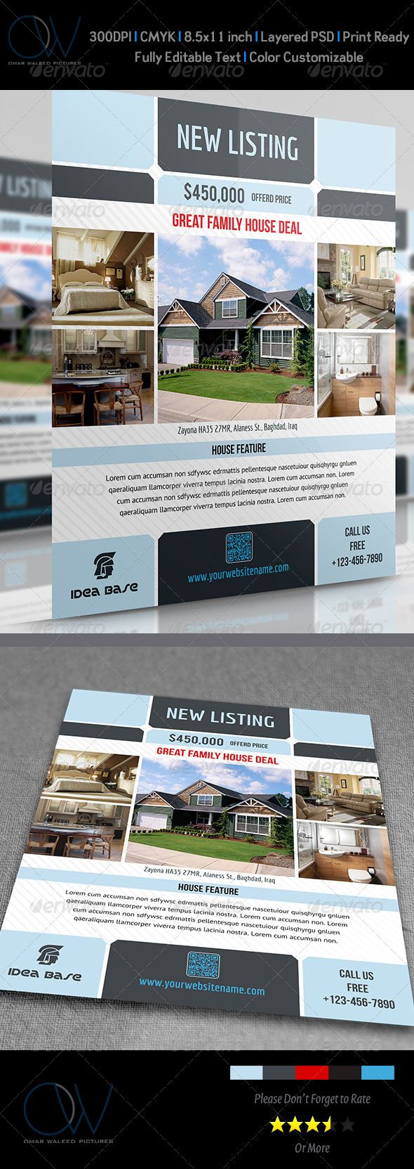 template e flyers template real estate flyer ideas agent templates