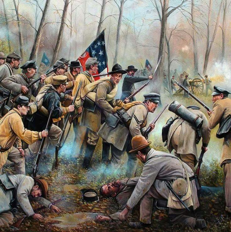 884 best images about Civil War Art on Pinterest ... |American Civil War Battle Paintings