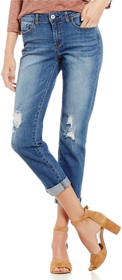 Jessica Simpson Mika Destructed Best Friend Jeans