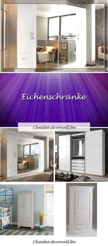 Eichenschranke In 2020 With Images Closet Doors Doors Closet