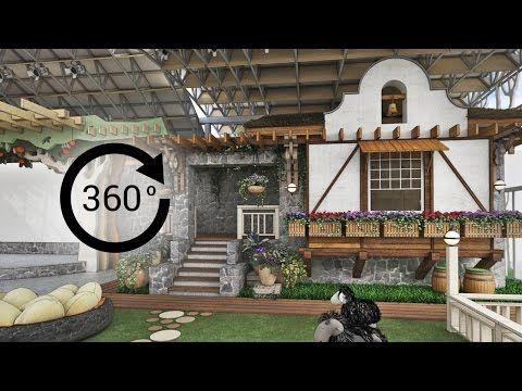 360° - 3D render   Интерьер   Детский развлекательный комплекс «ФЕРМА». Вид 3 - YouTube