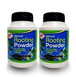 Doff Poudre d'hormones d'enracinement 75g–aide à la pousse de nouvelles racines sur les boutures et favorise des racines plus saines et fortes