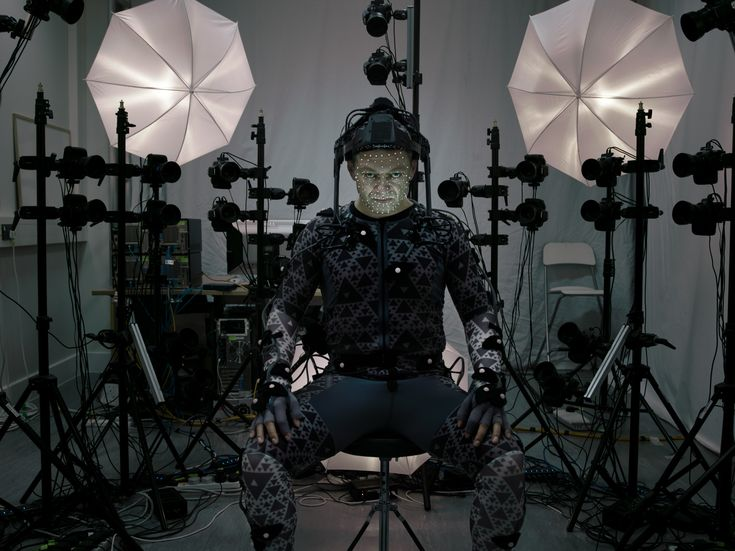 Star Wars: First picture of Andy Serkis !  #shadhome #cinema #starwars