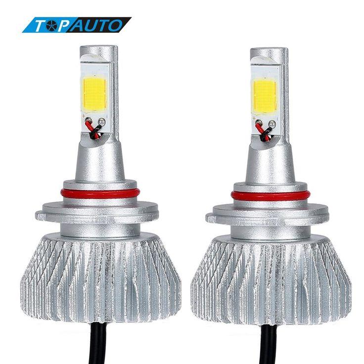 19.99$  Buy here - http://alifp5.shopchina.info/1/go.php?t=32720673127 - KKmoon One Pair of 9006 COB LED Light Headlight Fog Lamp 30W / Piece 9V - 36V 12V 24V Car Bulb Beam Kit 6000K White 3000LM/Bulb  #SHOPPING