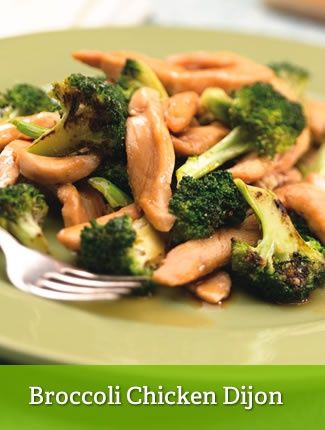Broccoli Chicken Dijon {leaner}  http://www.youfit.tsfl.com  http://www.facebook.com/healthconfessions.com