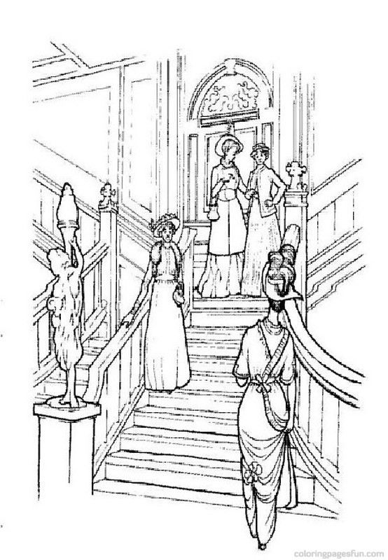 scenic coloring pages Source