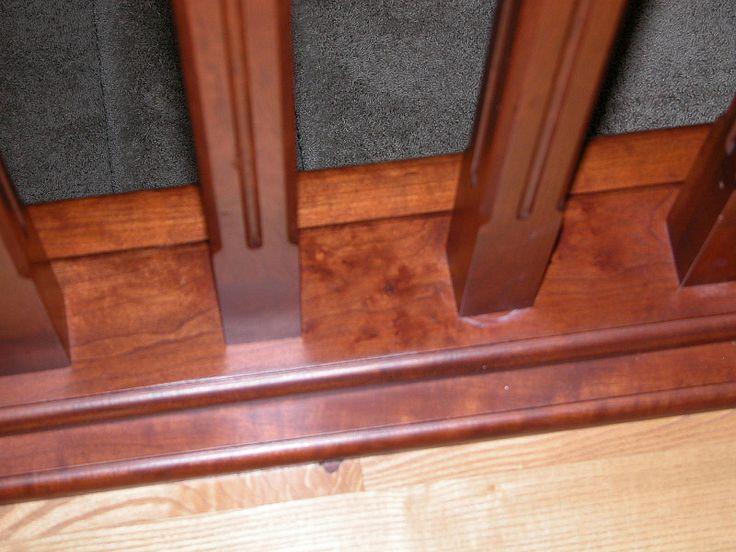 Best Stair Base Rail Cherry Staircase Handrail Gallery 400 x 300