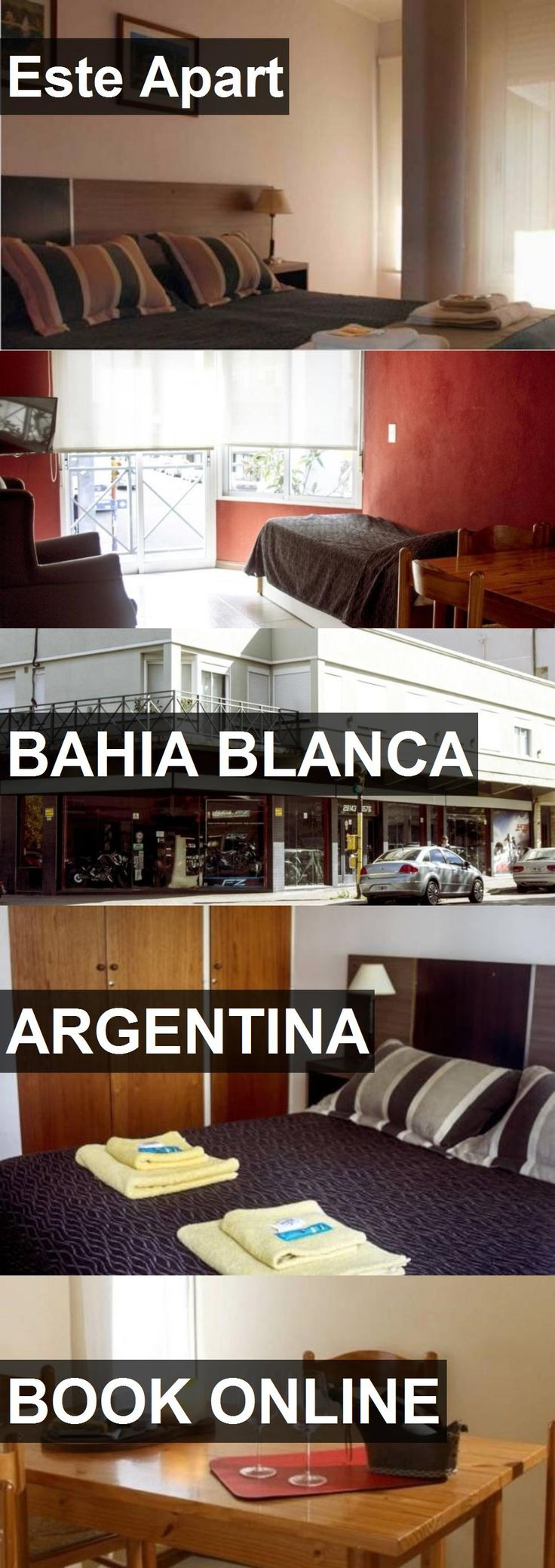 Hotel Este Apart in Bahia Blanca, Argentina. For more information, photos, reviews and best prices please follow the link. #Argentina #BahiaBlanca #travel #vacation #hotel