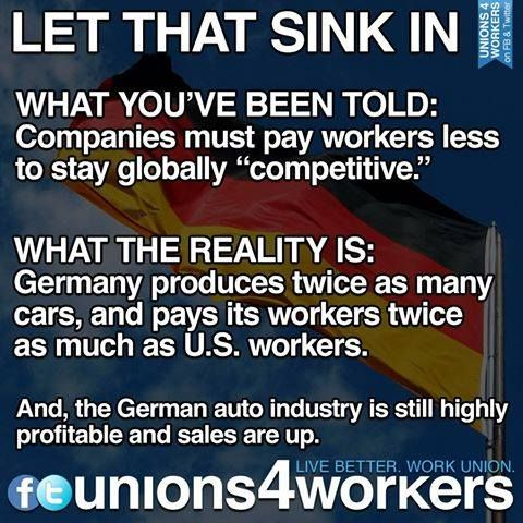 .AMERICAN WORKERS BEING SERIOUSLY SCREWED!!! . . . #economy . . . #wages. . .#unions
