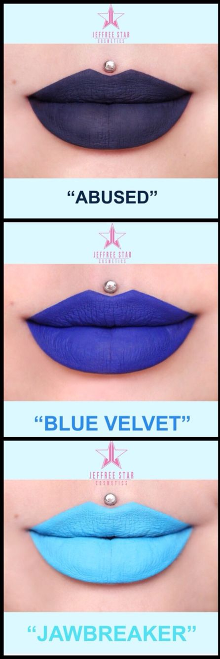 I can't believe that I have to wait until June to get these new Jeffree Star lipsticks!