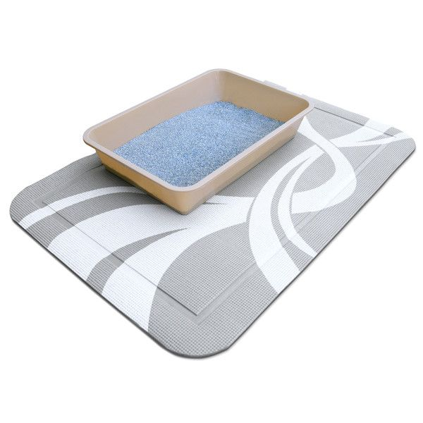 Cat Litter Mat Kitty Box Tray Tracking Trap Catcher Easy to Clean Stylish Design  sc 1 st  Pinterest & Best 25+ Cat litter mat ideas on Pinterest | Cat mat Matted cat ... Aboutintivar.Com