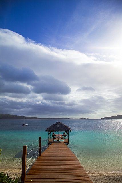 A small piece of paradise. The Havannah, Vanuatu  www.islandescapes.com.au