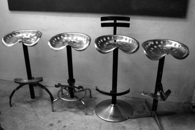 Tabourets de bar métal- Stéphane Rozand