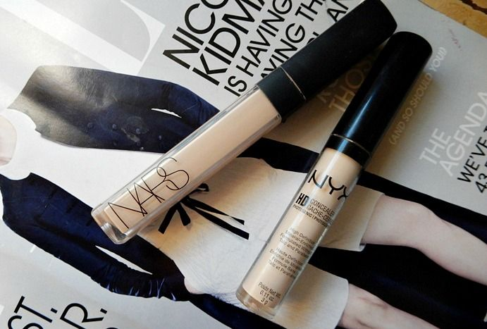 NARS Radiant Creamy Concealer dupe by NYX Cosmetics