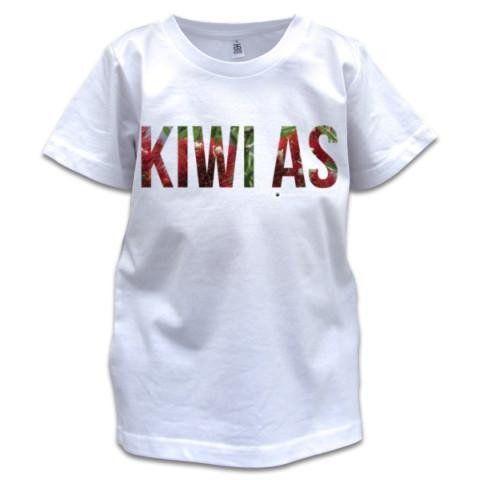 NZ Children's T-Shirt - NZ Pohutukawa Kiwi As - Photo