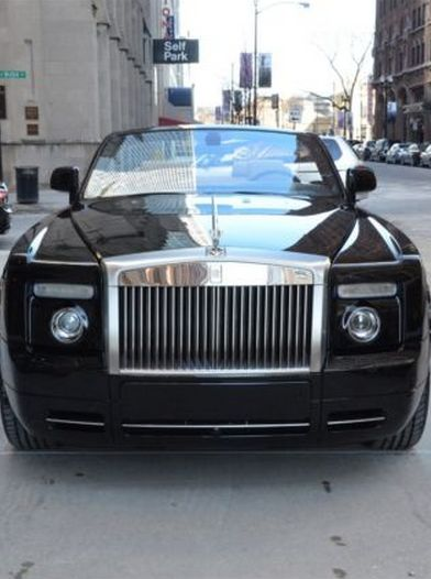 'Big city car for a big city player' - Rolls Royce Phantom 2dr Drophead. Hit the image to see more #spon