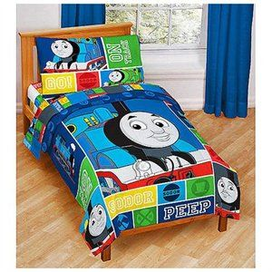 Thomas And Friends 4 Pc Toddler Bed Set Gullane Limited