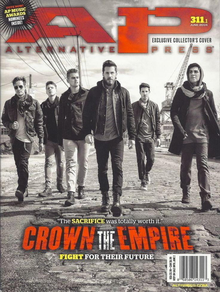 Crown the Empire AP Magazine Jun 2014 #311 Being as an Ocean Breathe Carolina