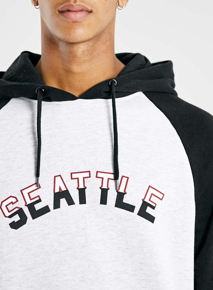 Photo 4 Of Black Seattle Overhead Hoodie  Design Inspiration- Clothing -8500