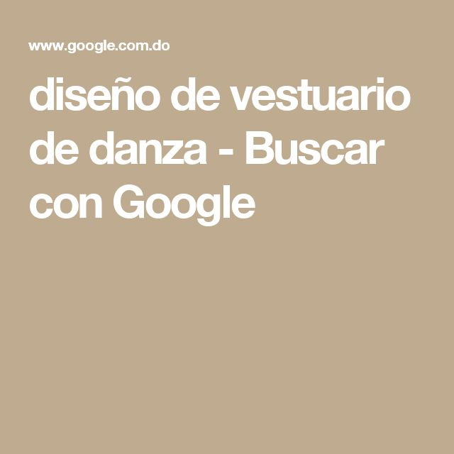 diseño de vestuario de danza - Buscar con Google