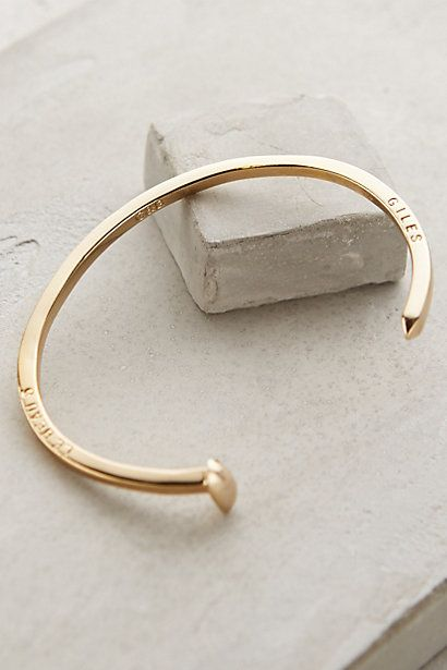 Golden Spike Cuff by Giles & Brother