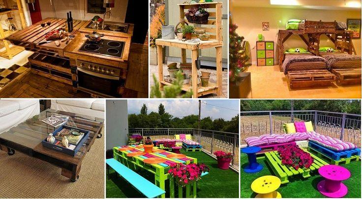 70 projets irrésistibles à réaliser à partir de palettes de bois!