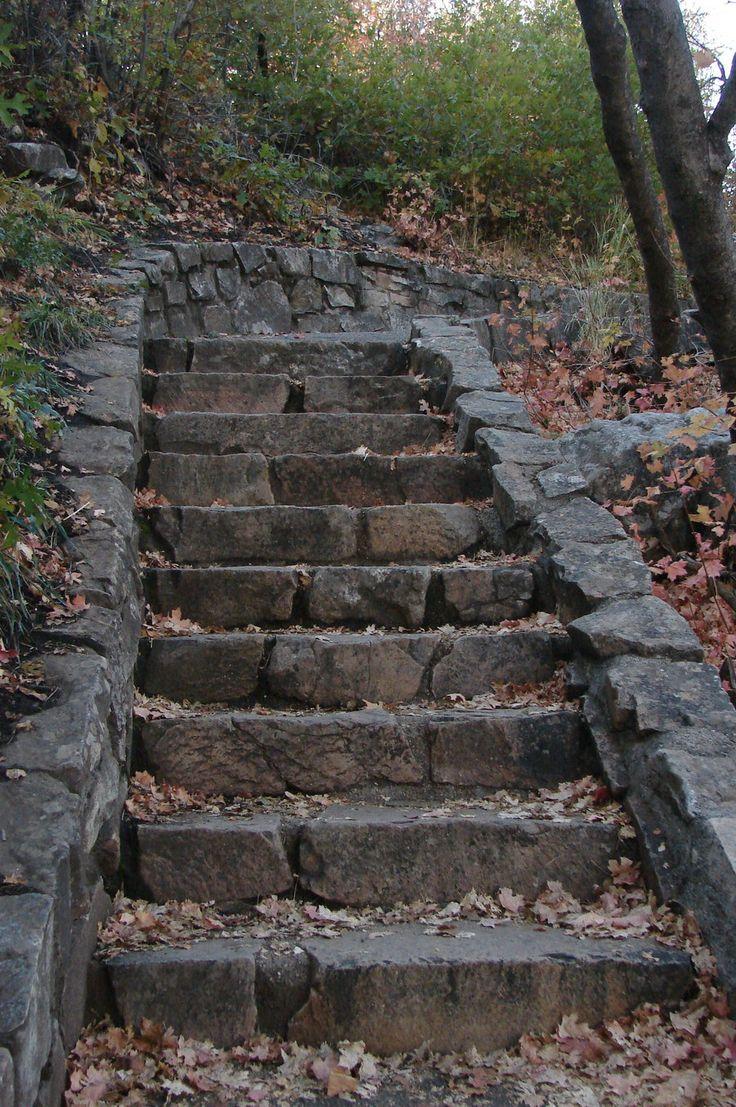 Stone Stairs By Miffliness Stock.deviantart.com On @DeviantArt | Ett  Speciellt Hus | Pinterest | Stone Stairs