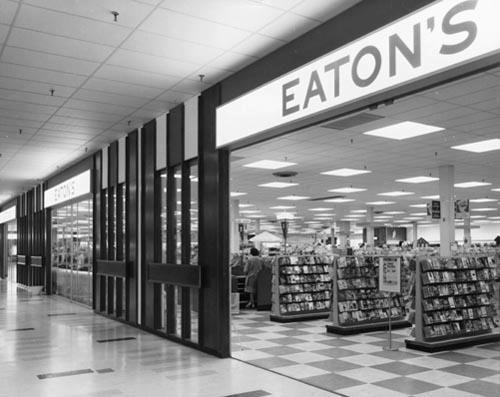 Eatons Shoppers World 1962